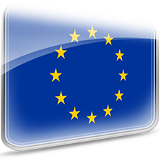 EU flags European Union-(22